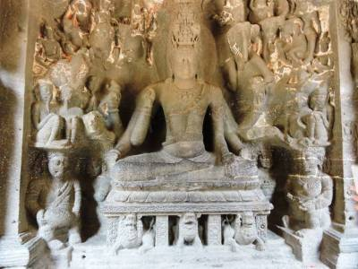 Ellora caves Aurangabad Maharashtra