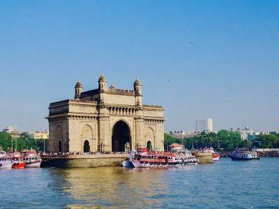 Gateway of India in Mumbai of Maharashtra