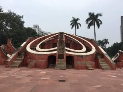 Jantar Mantar in Delhi of India