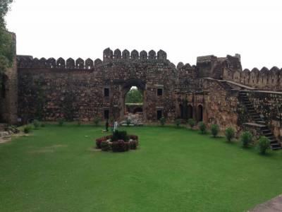Jhansi Fort in India