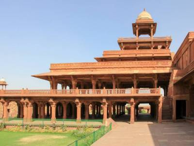 Panch Mahal in Fatehpur Sikri of Agra, Uttar Pradesh
