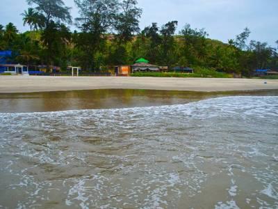 Ashvem Beach in Goa