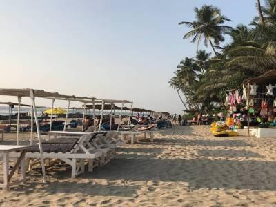 Ashvem Beach in North Goa (Panjim)
