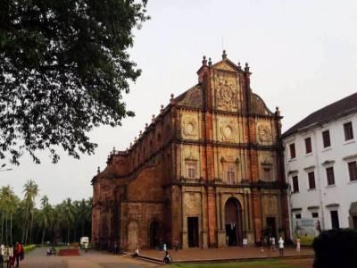 St Francis Xavier Church in Goa of India
