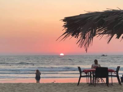Cavelossim Beach in Margoa
