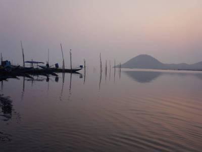 Chilika Lake in Puri of Odisha