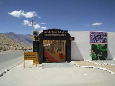 Gurudwara Pathar Sahib in Ladakh, Jammu and Kashmir