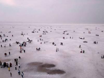 The Great Rann of Kutch in Gujarat
