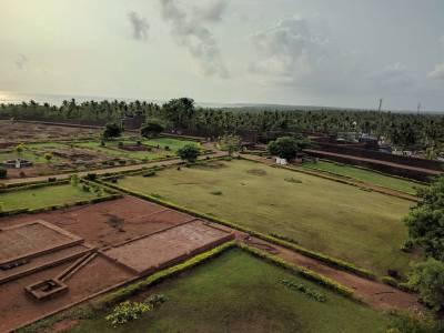 Bekal Fort in Kasaragod of Kerala