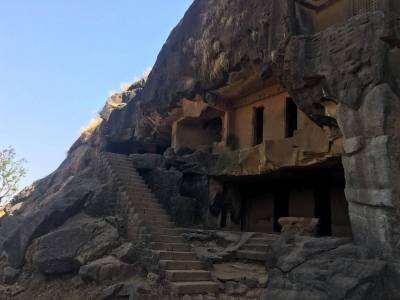 Bhaja Caves in Lonavala of Pune, Maharashtra