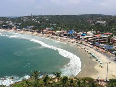 Lighthouse Beach in Thiruvananthapuram