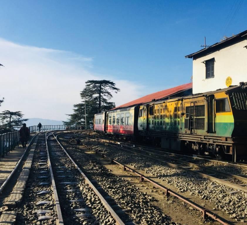 Places To See In Shimla Rajgarh At Shimla: Kalka Shimla Toy Train, History