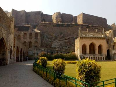 Golconda Fort in Hyderabad of Telangana