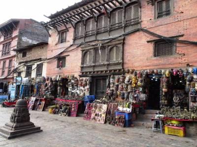 Swayambhunath Temple in Kathmandu Valley