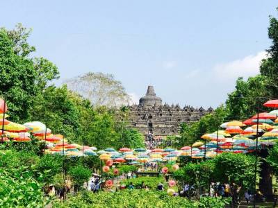 Borobudur Buddha Temple, Indonesia