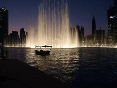 Dubai Fountain, UAE