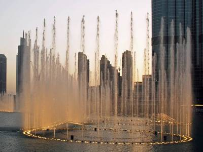 Dubai Mall Fountain, UAE