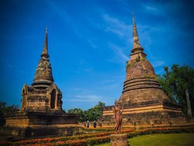 Sukhothai Historical Park of Thailand