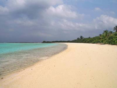Bangaram Island in Lakshadweep