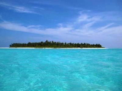 Kadmat Island in Lakshadweep