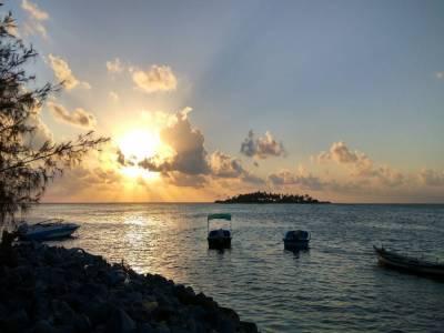 Kalpeni Island in Lakshadweep