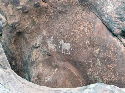 Bhimbetka Rock Shelters cave