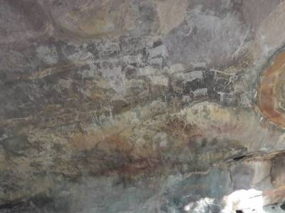 Bhimbetka Rock Shelters cave paintings
