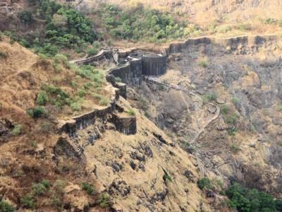 Raigad Fort in Raigad District, Maharashtra