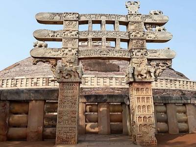 Sanchi Stupa in Raisen District