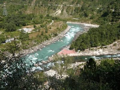 Nandprayag Prayag in Chamoli, Uttarakhand