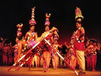 Karakattam Folk Dance