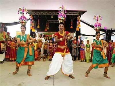 Karakattam Dance
