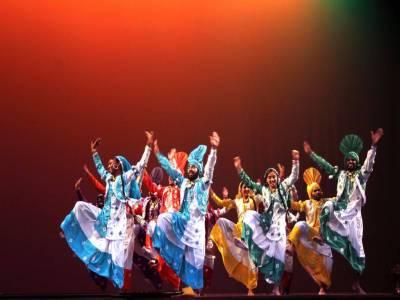 Bhangra Folk Dance
