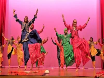 Bhangra Dance in Punjab