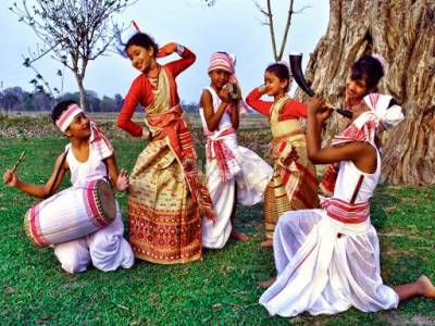 Bihu Traditional Dance Form