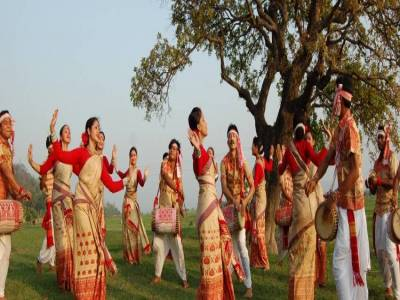 Bihu Dance in Assam
