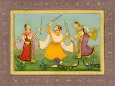 Dandiya Traditional Dance