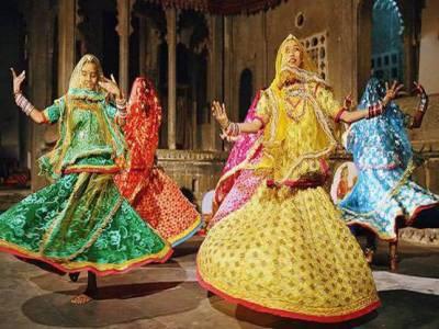 Ghoomar Folk Dance