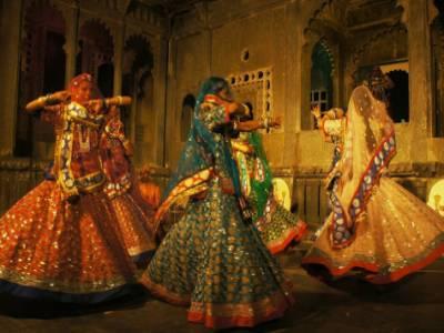 Ghoomar Dance