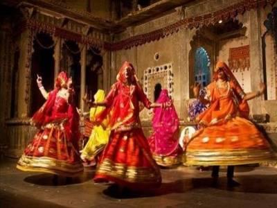 Ghoomar Dance Style