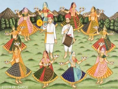 Ghoomar Dance in India