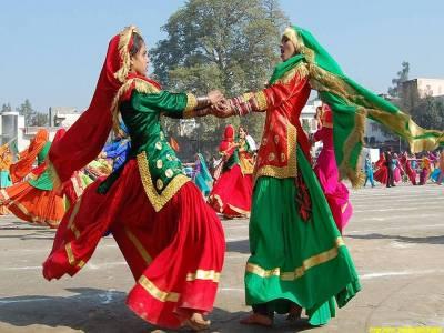 Gidda Folk Dance
