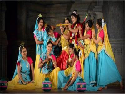 Raas Leela Folk Dance