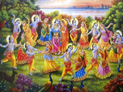 Raas Leela Dance Style