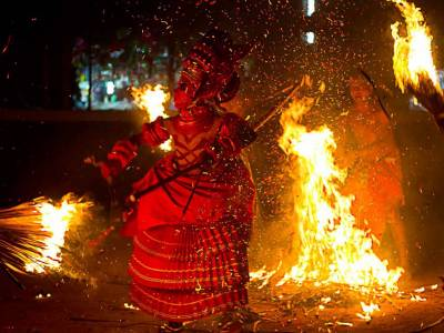 Theyyam Traditional Dance