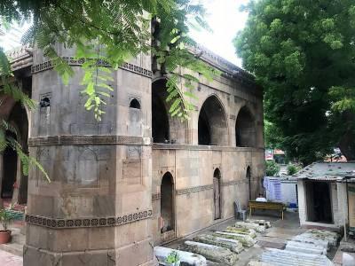 Sidi Saiyyed Mosque in Gujarat