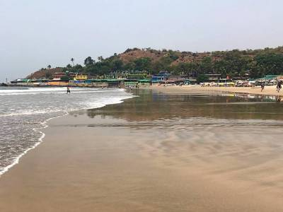 Harmal Beach in Goa