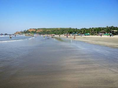 Arambol Beach or  Harmal Beach in North Goa
