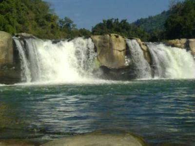 Barak Waterfall in Tamenglong