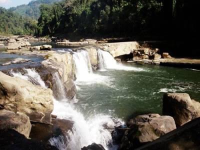 Barak Waterfall in Tamenglong of Manipur